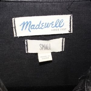 Madewell Tops - Madewell Denim Button Down Size S